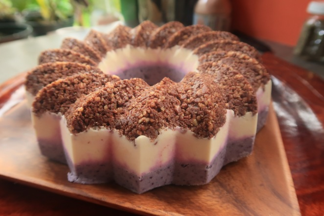 Raw Vegan Blueberry Cheesecake